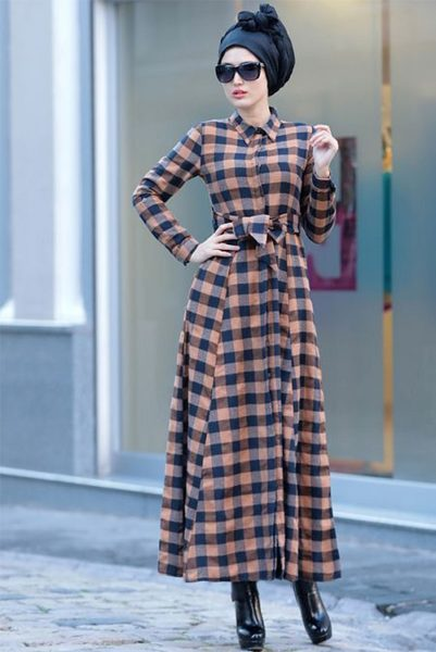 Modest fashion   Islamic Fashion Design Council Now whenever we talk about modest fashion  the Abaya is the first thing  that comes to mind  A Gingham printed Abaya is now good to go for your  spring summer