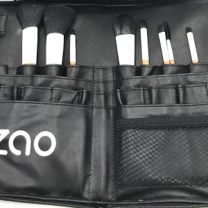 ceinture de maquillage et 10 pinceaux de maquillage professionnels zao make up