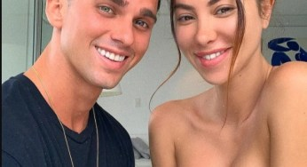 Model slammed for posting nude photos with his girlfriend online, (18+photos)