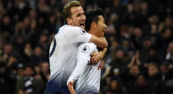 Tottenham beat Arsenal 2-0 to top EPL table