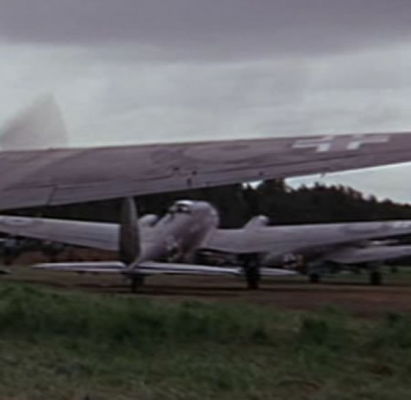 Spanish Heinkel IIIs