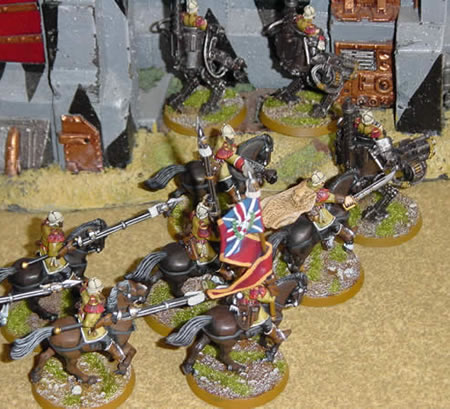 Victorian SF Imperial Guard Rough Riders