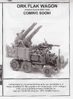 New Forge World Ork Stuff - Flakwagon