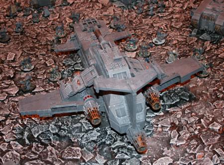 Space Wolves Thunderhawk Gunship
