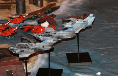 Flight of the Imperial Navy