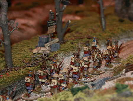 Marching to war…
