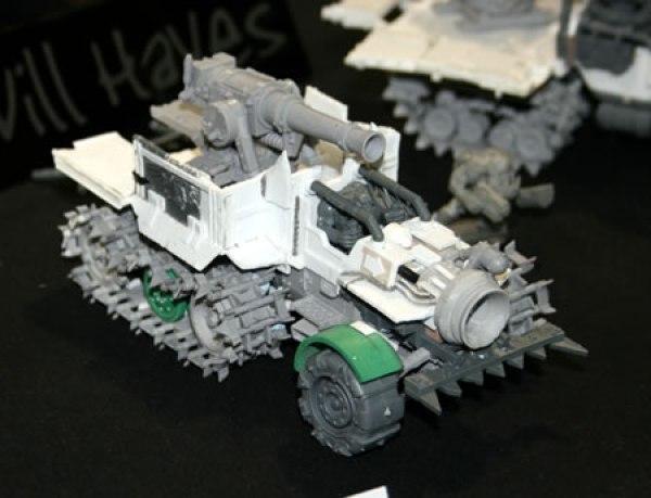 Forge World Ork Gun Trukk Concept