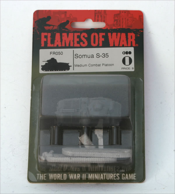 Flames of War French Somua S-35