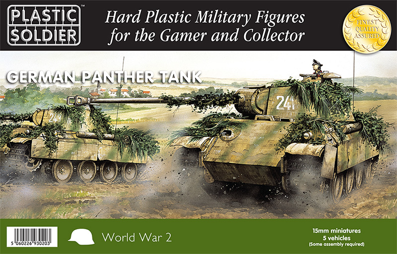 15mm Plastic Panthers