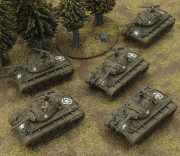 Flames of War M24 Chaffee Platoon