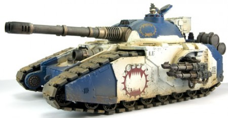 Space Marine Fellblade Super-heavy Tank