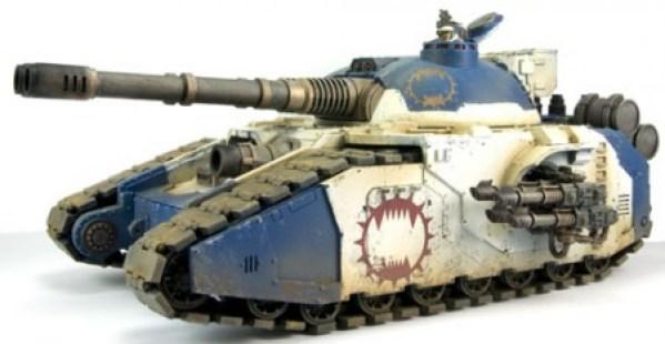 Space Marine Fellblade Super-heavy Tank