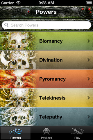 Warhammer 40,000: Psychic Powers brings the psychic devastation of the 41st Millennium to your iPhone or iPod touch.