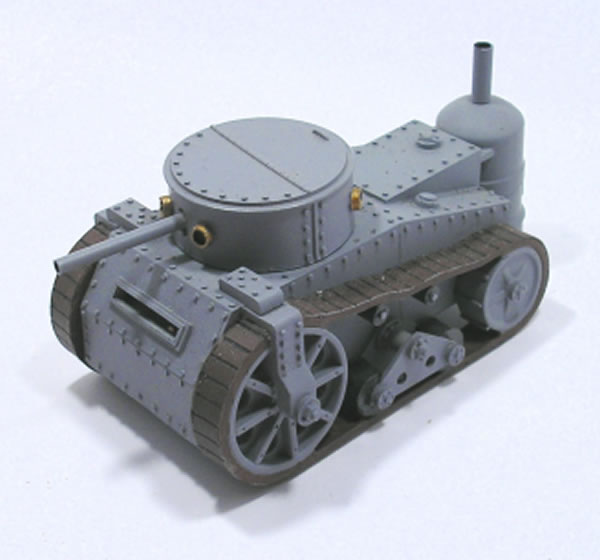 Ironclad Miniatures Steam Tank