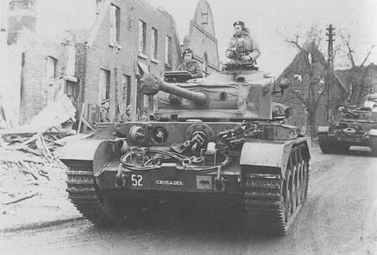 Tank, Cruiser, Comet I (A34)