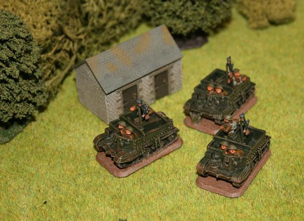 Flames of War - Late War Universal Carriers