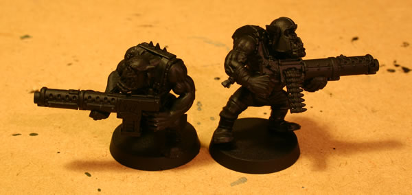 Orks with Heavy Weapons