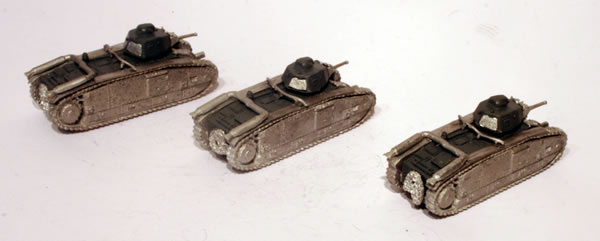 Flames of War French Char B1 bis