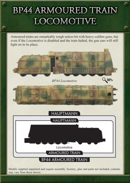 Flames of War German Armoured Train