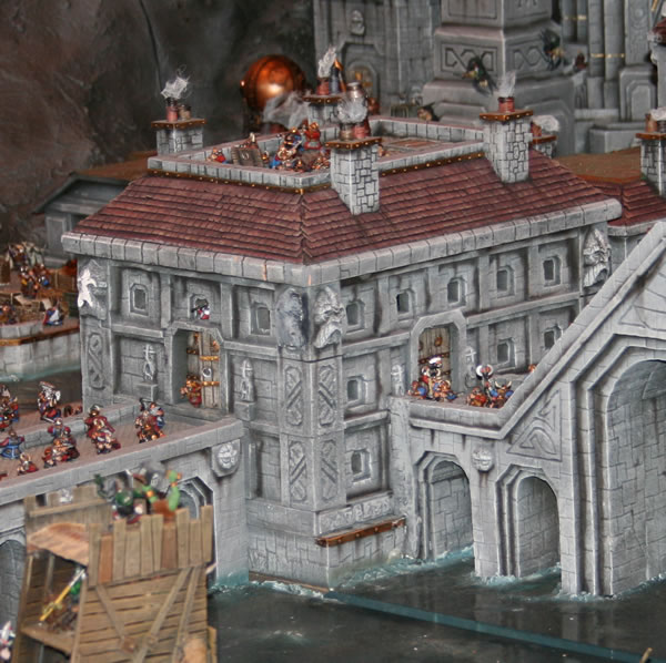 Dwarf City under attack