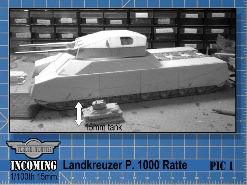 15mm P1000 Ratte