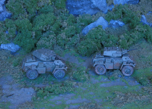 Flames of War Humber Armoured Cars