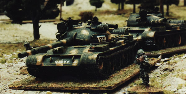 Russian tank from a 20mm moderns demonstration game from a show that I can't recall from the 1990s.