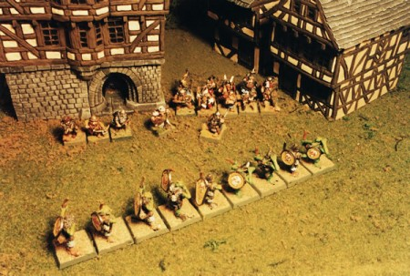 Orc Archers attacking