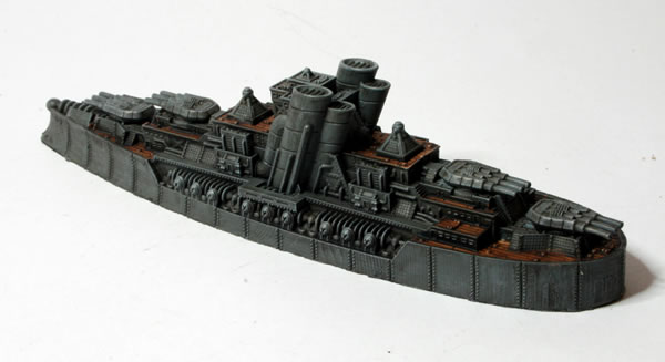 Dystopian Wars: Prussian Empire Blucher Class Dreadnought