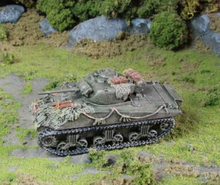 Flames of War British Sherman Tanks
