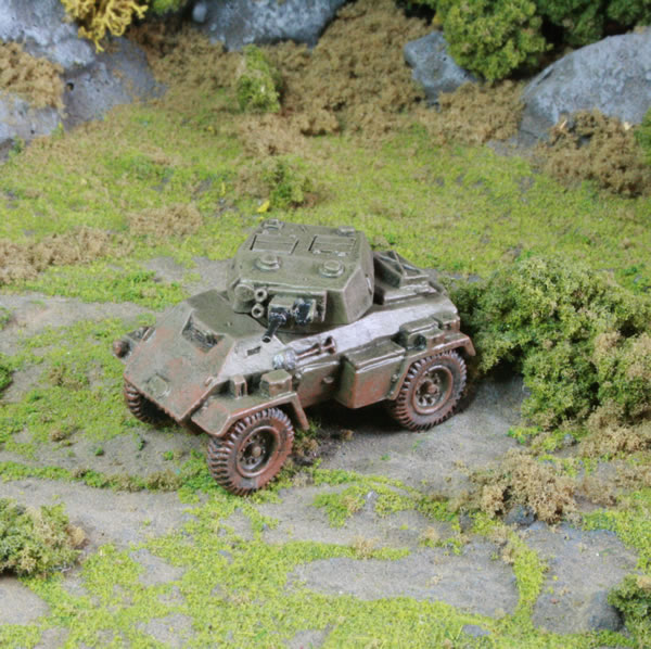 Flames of War British Humber Armoured Car