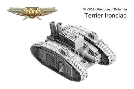 Kingdom of Britannia Terrier Ironclad