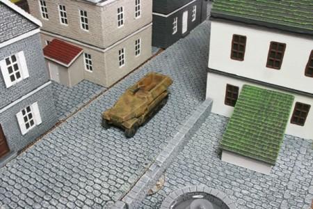 15mm German SdKfz 251 Half Track