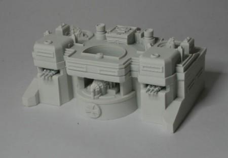 Dystopian Wars Prussian Bunker