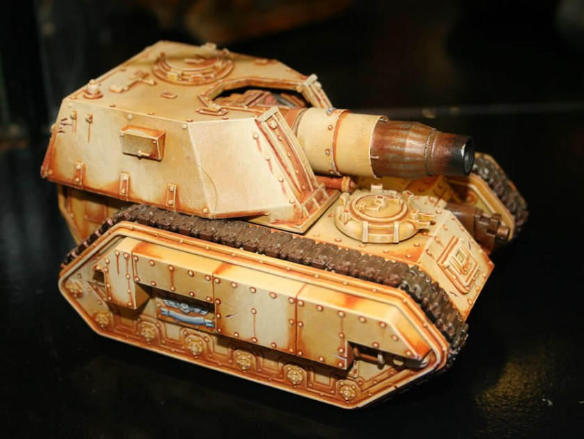 Forge World Armoured Medusa Armageddon Pattern