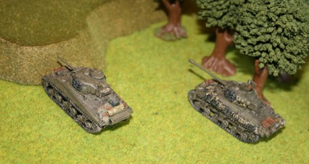 Flames of War Shermans