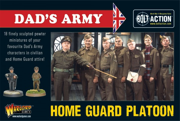 Warlord Games' Dad's Army Home Guard Platoon Boxed Set