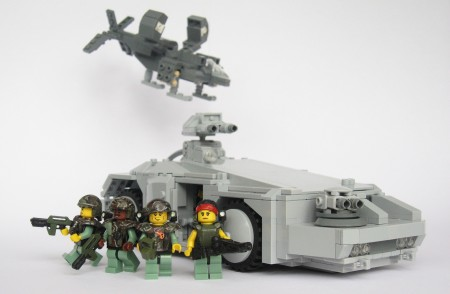 Colonial Marines in LEGO