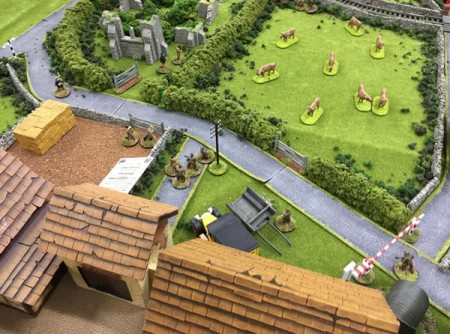 Dad's Army 28mm using the Pulp Alley rules