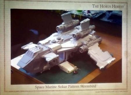 Space Marine Sokar Pattern Stormbird