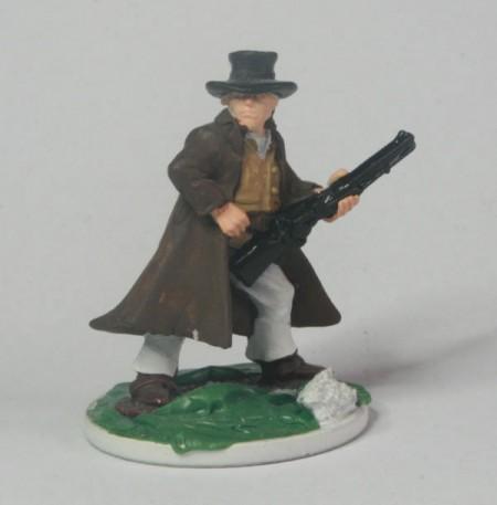 The Reverend John Wesley Carrington