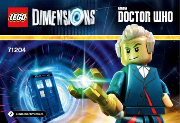 Doctor Who in Lego
