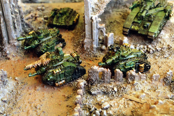 Imperial Guard Armoured Company