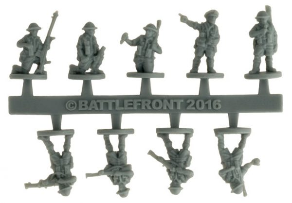 Battlefront announced they were, having moved from metal to hard plastic, were going to move now to flexible plastic.