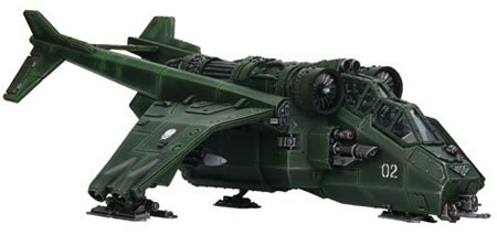 Plastic Imperial Guard Valkyrie