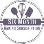 6 month baking subscription box and baking gift subscriptions baking club food gift