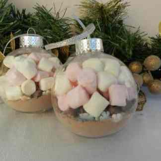 Deluxe hot chocolate baubles christmas gift
