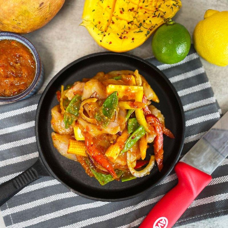 AVO Spicy Mango Butchers' Sauce