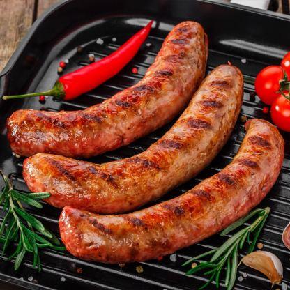 Arthur Pipkins Premium Pork, Hickory and Chipotle BBQ Sausage Mix