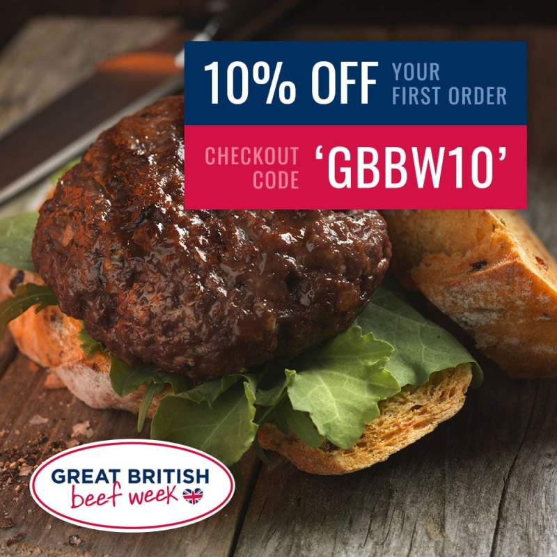 Great British Beef Week - 10% off your first order